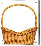 Wicker Basket Number Seven Acrylic Print