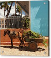Cuba, Sancti Spiritus Province Acrylic Print