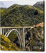 604 Det  Big Sur Bridge Acrylic Print