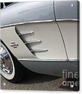 61 Corvette-grey-sidepanel-9241 Acrylic Print