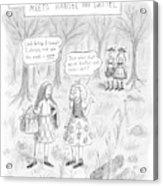 New Yorker April 16th, 2007 Acrylic Print