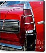 63 Pontiac Bonneville Acrylic Print