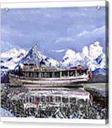 Alaska Yachting Acrylic Print
