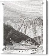 Desolation Sound Quiet Anchorage     Acrylic Print