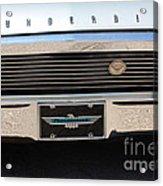 65 T-bird Grill-7875 Acrylic Print