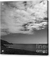 651 Bw The Couds Of Big Sur Acrylic Print