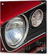 67 Camaro Ss Headlight-8724 Acrylic Print