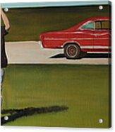 67 Ford Galaxie Acrylic Print