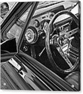 67 Mustang Interior Acrylic Print
