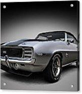 '69 Camaro Ss Acrylic Print