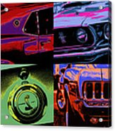 '69 Mustang Acrylic Print by Gordon Dean II
