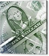 Time Is Money  Acrylic Print