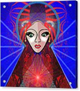 697 -  The Robot Power Doll ...  Acrylic Print