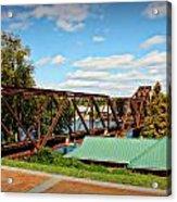 6th Street Bridge Acrylic Print
