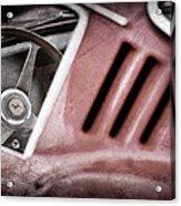 1966 Ferrari 275 Gtb Steering Wheel Emblem Acrylic Print by Jill Reger