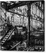 Abandoned Sugar Mill Acrylic Print