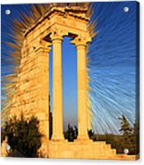 Apollo Sanctuary - Cyprus Acrylic Print