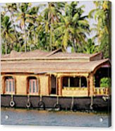 Asia, India, Kerala (backwaters Acrylic Print