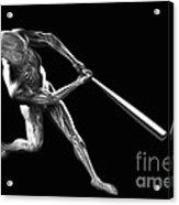 Baseball Swing Acrylic Print