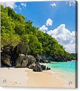 Beautiful Caribbean Beach Acrylic Print