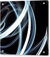 Blue Lines  Acrylic Print