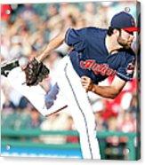 Boston Red Sox V Cleveland Indians Acrylic Print