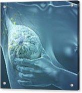 Breast Examination Acrylic Print