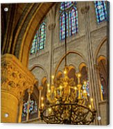 Cathedral Notre Dame Acrylic Print