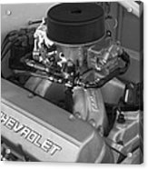 Chevrolet Engine Acrylic Print