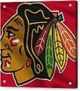 Chicago Blackhawks Uniform Acrylic Print
