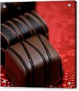 Chocolate Candies Acrylic Print by Amy Cicconi