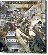 Diego Rivera - Detroit Acrylic Print