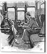 Doyle: Sherlock Holmes Acrylic Print