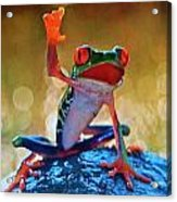 Exotic Frogs Acrylic Print