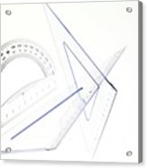 Geometry Set Acrylic Print