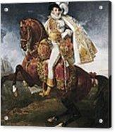 Gros, Antoine Jean, Baron 1771-1835 Acrylic Print