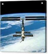 International Space Station Acrylic Print