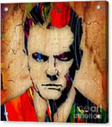 James Cagney Collection Acrylic Print