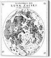 Johannes Kepler (1571-1630) Acrylic Print