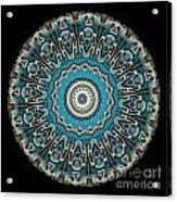 Kaleidoscope Steampunk Series Acrylic Print