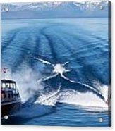 Lake Tahoe Wooden Boats Acrylic Print