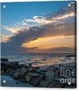 Sc Lowcountry Sunset Acrylic Print
