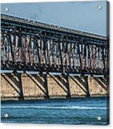 7 Mile Bridge Acrylic Print