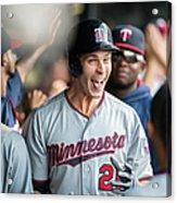 Minnesota Twins V Cleveland Indians 7 Acrylic Print