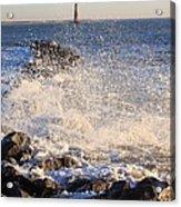 Morris Island Lighthouse Acrylic Print