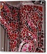 Mosaic Doorway Acrylic Print
