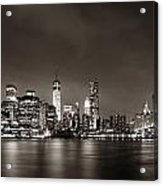 New York City Night Acrylic Print