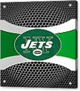 New York Jets Acrylic Print by Joe Hamilton