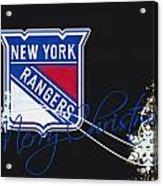 New York Rangers Acrylic Print
