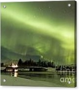 Northern Lights Iceland Acrylic Print